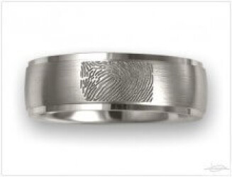 Ringen met fingerprint