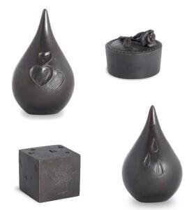 Bronzen urnen