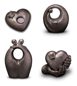 Geert Kunen urnen - Zilver