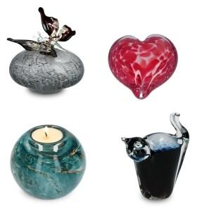 Mini-urnen Kristalglas