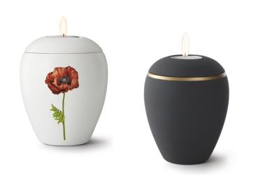 Mini -urnen   Theelichtjes   keramiek